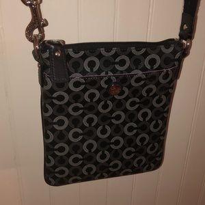 Coach ‼️ Super Trendy black coach crossbody bag‼️